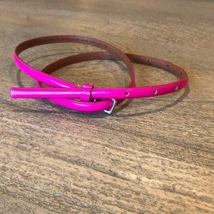 Accessories - Hot Pink Belt
